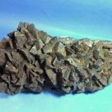 Siderita mina la hoya Guejar sierra Granada pieza de 25x8cm aristas  de los cristales de 28mm.jpg (Autor: Nieves)