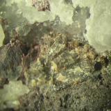 Masivo de clorargirita de 3 cms. Mina La Fuerza, Hiendelaencina, Guadalajara (Autor: Adrian Pesudo)