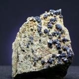 Cuarzo Azul - Torre-Alhaquime - Cádiz Pieza de 5,5 x 5 cm. (Autor: El Coleccionista)