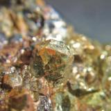 Apatito mina el Peñoncillo Ojén Málaga, cristal 6mm (Autor: Nieves)