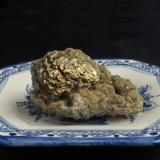 Calcopirita, Siderita. 5,90 x 4,70 x 3,30 cm (Autor: Jmiguel)