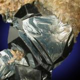 Hematita, cuarzo Rio Marina, Isola d'Elba, Livorno, Toscana, Italia 65 mm x 45 mm x 40 mm  Detalle (Autor: Carles Millan)