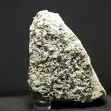 Axinita - Cantera La Juanona - Antequera - Málaga Pieza de 13 x 10 cm. cristal mayor 0,8 cm. (Autor: El Coleccionista)