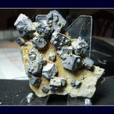 4x6 cm cristales entre 0'5 y 0'8  Pitcher Oklahoma U.S.A (Autor: Jose Muñoz)