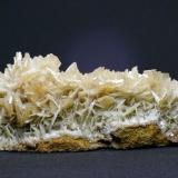 Barita - Mina Beltraneja - Complejo minero El Cortijuelo - Bacares - Almería Pieza de 15 x 8 cm. cristal mayor 2,5 cm. (Autor: El Coleccionista)