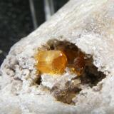 Celestina, Azaila, Teruel. Tamaño: 5cm Cristal<1cm Otra vista de la misma pieza. (Autor: yowanni)