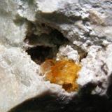 Celestina, Azaila, Teruel. Tamaño: 5cm Cristal<1cm (Autor: yowanni)