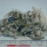 Quartz, fluorite and pyrite. Naica Chihuahua Mexico. (Author: javmex2)