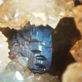 Pirargirita Mina la Suerte, Hiendelaencina, Guadalajara, Andalucía, España. cristal 8 mm (Autor: Nieves)