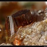 Vesuvianite Bellecombe, Val d'Aosta, Italy fov 5 mm (Author: ploum)