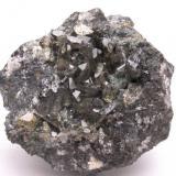 Anglesita - Mina Mineralogia - El Molar - El Priorat - Tarragona - Catalunya - España- 5,9 x 5,4 x 4,3 (Autor: Martí Rafel)