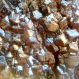 Granates, 5 milimetros cristal, Mina La Judía, Burguillos del Cerro, Badajoz (Autor: apita)