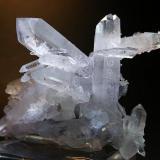 Cuarzo (variedad cristal de roca)<br />Grupo Minero Soloviejo, Almonaster La Real, Comarca Sierra de Huelva, Huelva, Andalucía, España<br />7 x 5 cm.<br /> (Autor: Juan Cabezas)