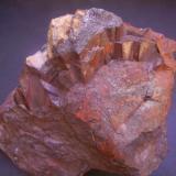 Hematites<br />Grupo Minero Petra Tercera, Ólvega, Soria, Castilla y León, España<br />13 x 12 cm.<br /> (Autor: Antonio Alcaide)