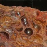 Hematites<br />Mina Santa Rosa, Barranco del Judío, Tierga, Comarca del Aranda, Zaragoza, Aragón, España<br /><br /> (Autor: Manuel Baquero)