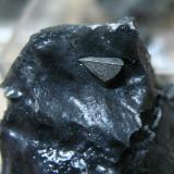 Tetraedrita<br />Burón, Comarca Montaña Oriental, León, Castilla y León, España<br />Cristal de unos 7 mm.<br /> (Autor: Calita)