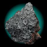Pirolusita (Pyrolusite)  Tamaño de la pieza (Size of the piece): 5x3 cm. Col. & Fot. Juan Hernandez. Recogido en Marzo de 2008 (Collected in March of 2008). (Autor: supertxango)