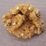 Wulfenite, defiance Mine, about 5 cm. (Author: Darren)