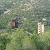 Head frame of the Kelly Mine. (Author: Paul Bordovsky)