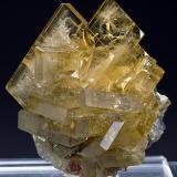 Barite Meikle Mine, Bootstrap District Elko County, Nevada Specimen size 4 x 5.5 cm. (Author: am mizunaka)