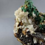 Cerussite and Malachite Beer Cellar Mine, Granby, Newton Co., Missouri  Detail (Author: rweaver)