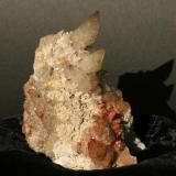 11 cm. calcite and minor quartz, hemitite stained. Collected 05. (Author: vic rzonca)