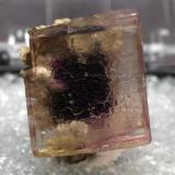 Fluorite from Auglaize Quarry, Paulding County, Ohio, USA Size:2.2cm X 1.8cm X 2.0cm (Author: pro_duo)