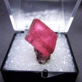 Rhodochrosite from Sweet Home Mine size: 1.5 cm tall (Author: pro_duo)