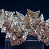 Calcite with Chalcopyrite Brushy Creek Mine, Viburnum Trend District, Reynolds Co., Missouri Specimen size 12.8 x 8.5 cm (Author: am mizunaka)