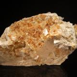 Fluorite<br />Stoneco Quarry (Lime City Quarry), Lime City, Wood County, Ohio, USA<br />10.6 cm<br /> (Author: Michael Shaw)