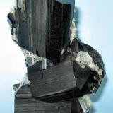 Schorl, beryl Davib East Farm, Erongo Mountain, Usakos and Omaruru Districts, Erongo Region, Namibia 66 mm x 51 mm (Author: Carles Millan)