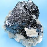 Cassiterite, muscovite Mt Xuebaoding, Pingwu Co., Mianyang Prefecture, Sichuan Province, China 100 mm x 95 mm (Author: Carles Millan)