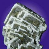 Barite with pyrite. Pozo Nº 5. La Cruz Mine. Linares. Jaén. Andalusia. Spain. 5 cm (Author: nimfiara)