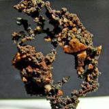 Copper. Belmonte. Asturias. Spain. 3 cm. (Author: nimfiara)