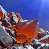 Quartz. Hozarco Mine. Cantabria. Spain. Piece 10 cm. Crystal 1 cm. (Author: nimfiara)