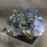 Galena with Fluorite other side of view (Author: pro_duo)