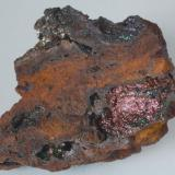 Goethita - Mines Can Palomeres, Malgrat de Mar, El Maresme, Barcelona, Catalunya, España Medidas: 6,5x5,5x2 cms (Autor: Joan Martinez Bruguera)