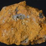 Hemimorfita - Mina Clara, Lastonares, Cantabria, España Medidas: 8x6,5x3 cms (Autor: Joan Martinez Bruguera)