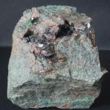 Granate - Minas de Cala, Huelva, Andalucia, España Medidas: 7,5x6x3,5 cms (Autor: Joan Martinez Bruguera)