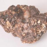 Clorita Pseudomórfica de Cordierita - Coll de la Boquera, Mont-ras, Baix Empordà, Girona, Catalunya, España Medidas: 6x5x4 cms (Autor: Joan Martinez Bruguera)