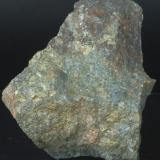 Calcopirita - Mines del Remei, El Vilar de la Castanya, El Brull, Osona, Barcelona, Catalunya, España Medidas: 8x7x5 cms (Autor: Joan Martinez Bruguera)