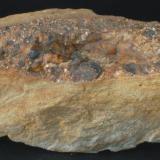 Casiterita - Lumbrales, Salamanca, Castilla y Leon, España Medidas: 11,5x5x4 cms (Autor: Joan Martinez Bruguera)
