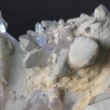 Cuarzo (detalle de la pieza anterior) - Tata, Marruecos Medidas: 8x6,5x6,5 cms (Autor: Joan Martinez Bruguera)