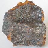 Goethita Irisada - Mines Can Palomeres, Malgrat de Mar, El Maresme, Barcelona, Catalunya, España medidas: 4x4x2 cms (Autor: Joan Martinez Bruguera)