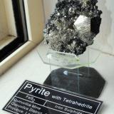 Pyrite with Tetrahedrite. Quiruvilca Mine, Quiruvilca District, Santiago de Chuco Province, La Libertad Department, Peru. 9 s 6 x 3 cm. (Author: Lumaes)