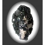 Hematite with Quartz. Terranera Mine, Port Azzurro, Isola d' Elba, Livorno Province, Tuscany, Italy. 12 x 9 x 9 cm. (Author: Lumaes)