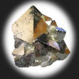 Pyrite. Huanzala Mine, Huallanca District, Dos de Mayo Province, Huánuco Department, Peru. 8 x 6 x 6 cm. (Author: Lumaes)