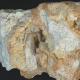 Ankerita - Mina Regia, Bellmunt del Priorat, El Priorat, Tarragona, Catalunya, España Medidas: 6,5x6,5x5,5 cms (Autor: Joan Martinez Bruguera)
