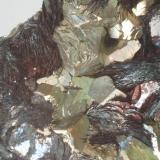 Hematites & Pirita (de 1985) - (detalle de la pieza anterior) - Rio Marina, Isla de Elba, Italia Medidas: 5,5x4x3,5 cms (Autor: Joan Martinez Bruguera)