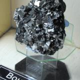 Bournonite. Riqueza Mine, Pachapaqui District, Bolognesi Province, Ancash Department, Peru. 9 x 6 x 6 cm. (Author: Lumaes)